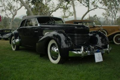 1937 Cord - Model 812 Supercharged Convertible Phaeton